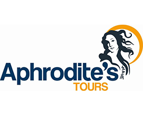 Aphrodite's tours logo