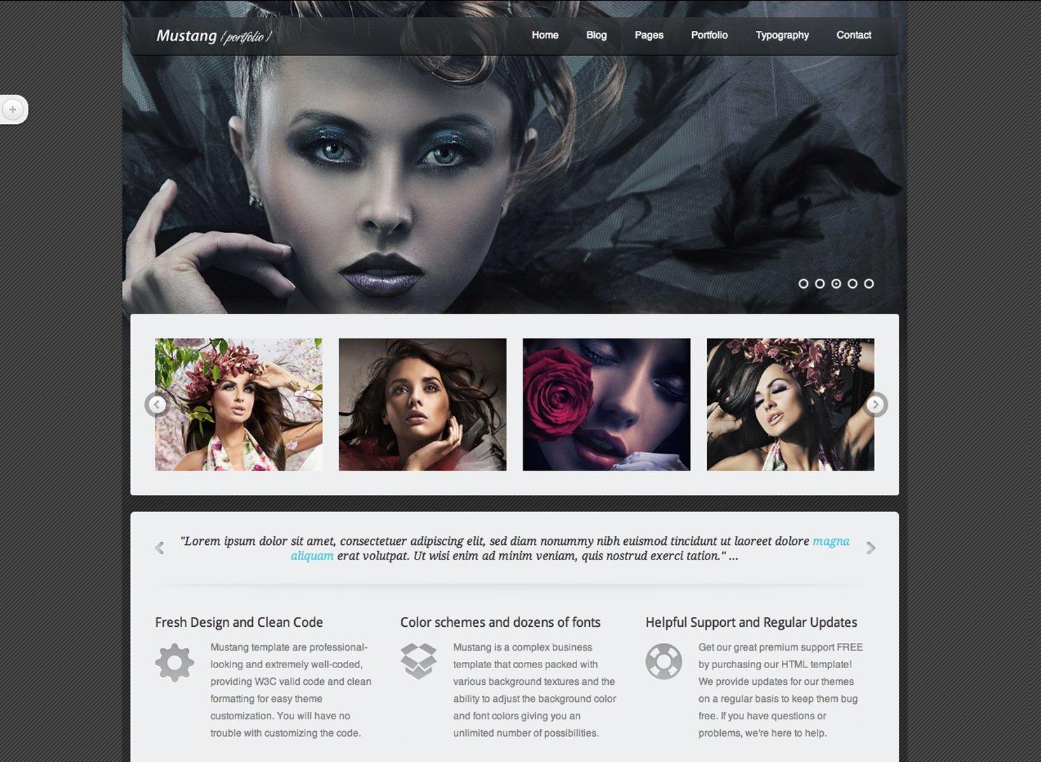 MACS Portfolio web design